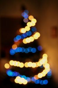 """Christmas Tree Lights Bokeh"" by Rushilf - Own work. Licensed under Creative Commons Attribution"